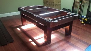 Pool and billiard table set ups and installations in MeadvilleOhio